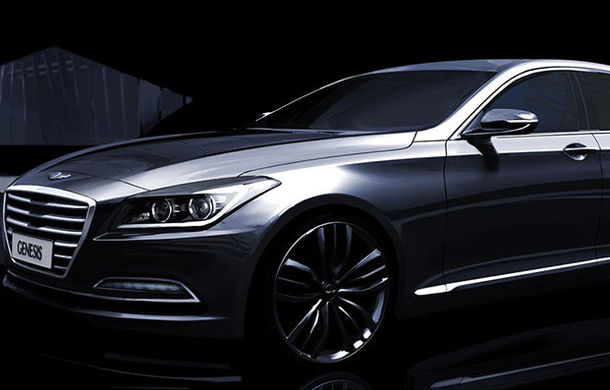 Hyundai Genesis Sedan va fi lansat şi pe piaţa din Europa - Poza 2