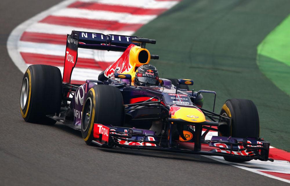 Vettel pleacă din pole position în India, Alonso doar pe opt - Poza 1