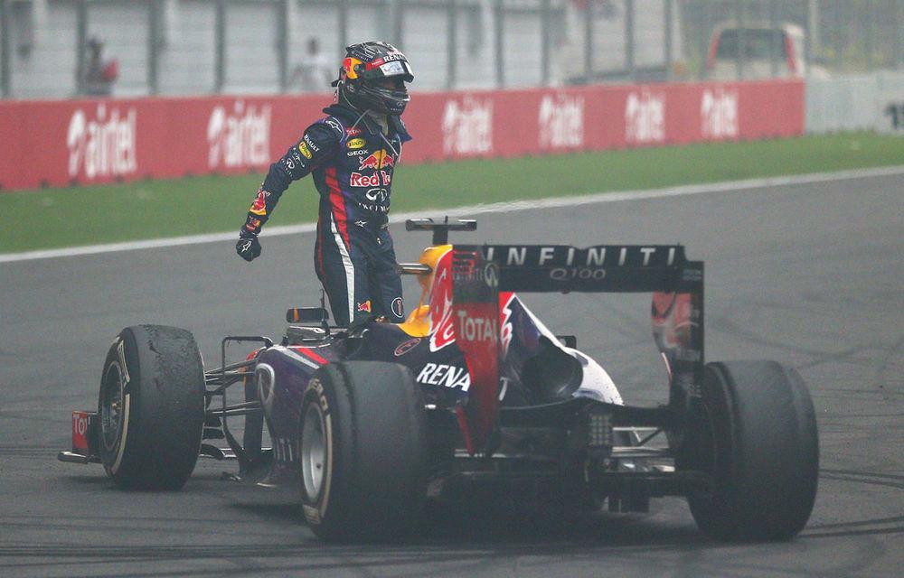 GALERIE FOTO şi VIDEO: Vettel a sărbătorit cu stil al patrulea titlu mondial din carieră - Poza 7