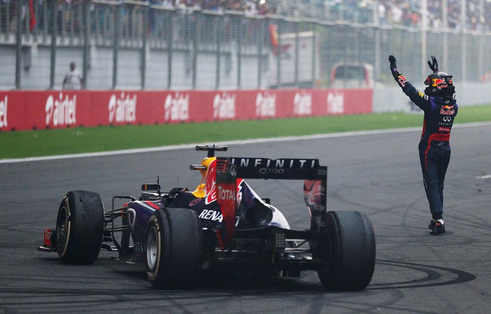GALERIE FOTO şi VIDEO: Vettel a sărbătorit cu stil al patrulea titlu mondial din carieră - Poza 6