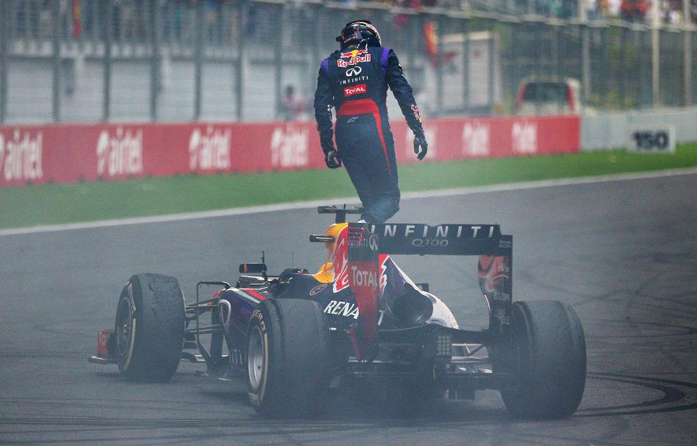 GALERIE FOTO şi VIDEO: Vettel a sărbătorit cu stil al patrulea titlu mondial din carieră - Poza 12