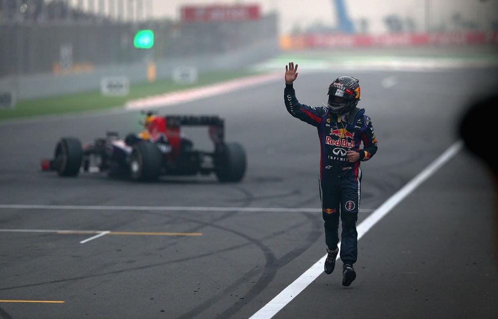 GALERIE FOTO şi VIDEO: Vettel a sărbătorit cu stil al patrulea titlu mondial din carieră - Poza 13