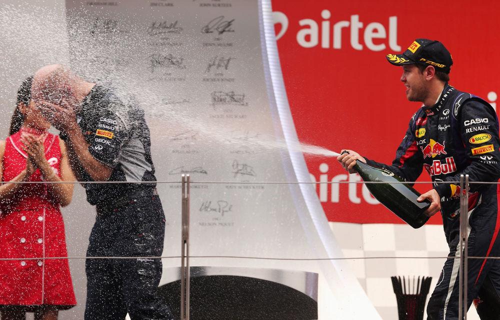 GALERIE FOTO şi VIDEO: Vettel a sărbătorit cu stil al patrulea titlu mondial din carieră - Poza 22