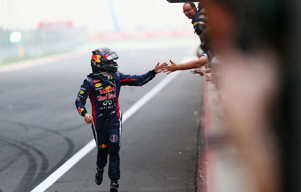 GALERIE FOTO şi VIDEO: Vettel a sărbătorit cu stil al patrulea titlu mondial din carieră - Poza 14