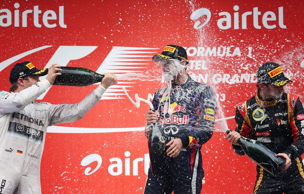 GALERIE FOTO şi VIDEO: Vettel a sărbătorit cu stil al patrulea titlu mondial din carieră - Poza 21