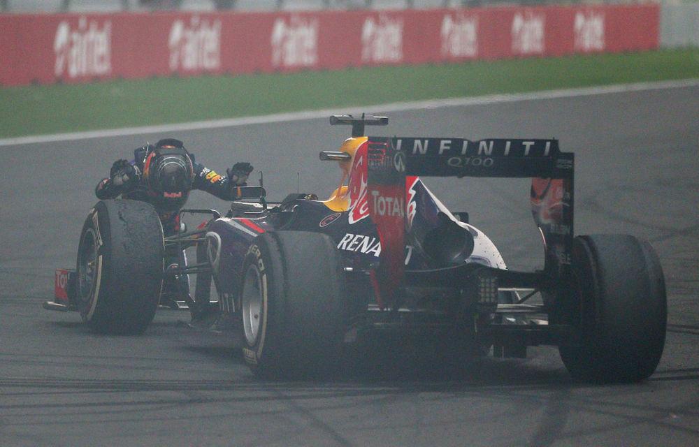 GALERIE FOTO şi VIDEO: Vettel a sărbătorit cu stil al patrulea titlu mondial din carieră - Poza 1