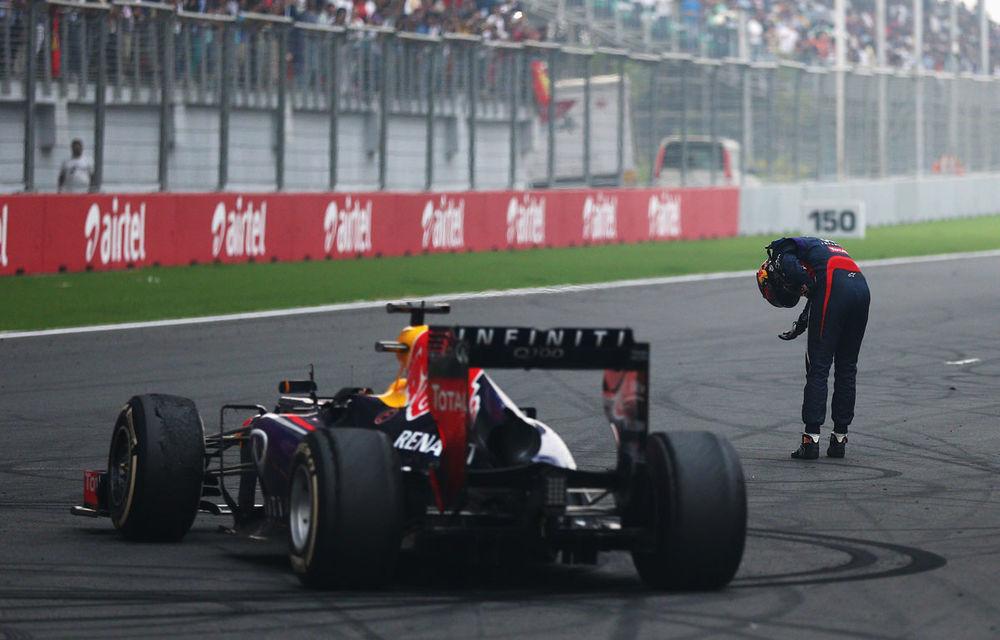 GALERIE FOTO şi VIDEO: Vettel a sărbătorit cu stil al patrulea titlu mondial din carieră - Poza 5