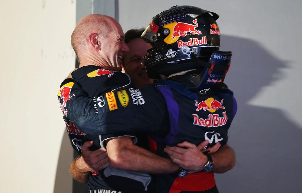GALERIE FOTO şi VIDEO: Vettel a sărbătorit cu stil al patrulea titlu mondial din carieră - Poza 18