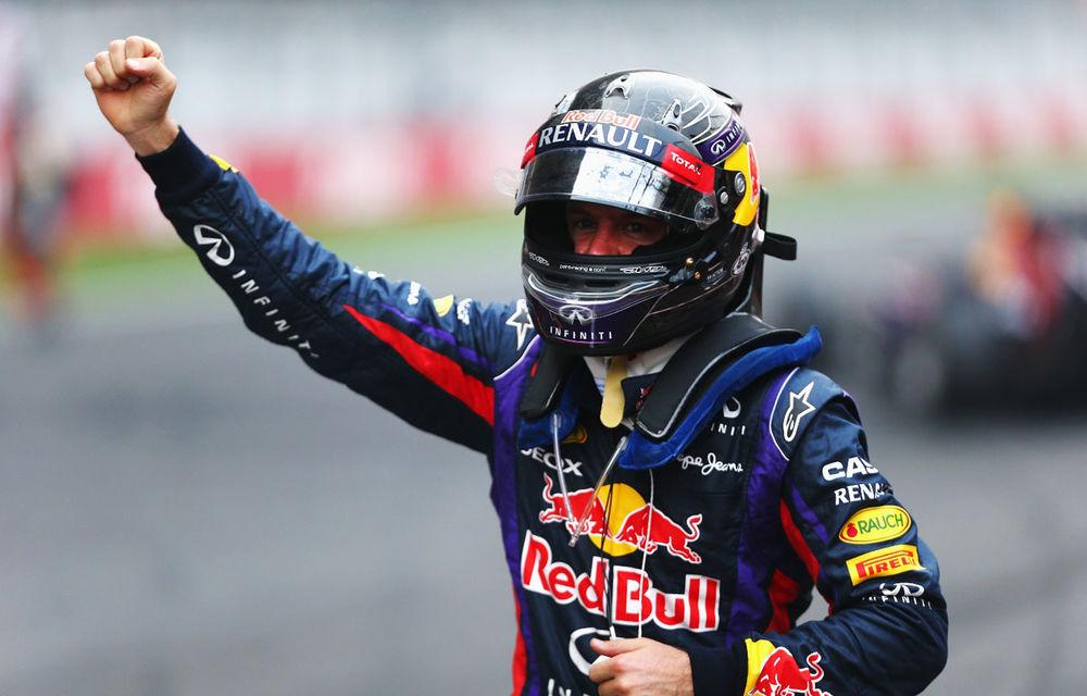GALERIE FOTO şi VIDEO: Vettel a sărbătorit cu stil al patrulea titlu mondial din carieră - Poza 16