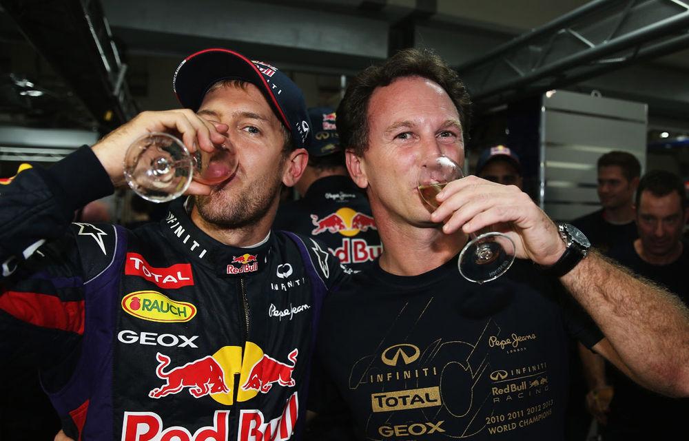 GALERIE FOTO şi VIDEO: Vettel a sărbătorit cu stil al patrulea titlu mondial din carieră - Poza 25