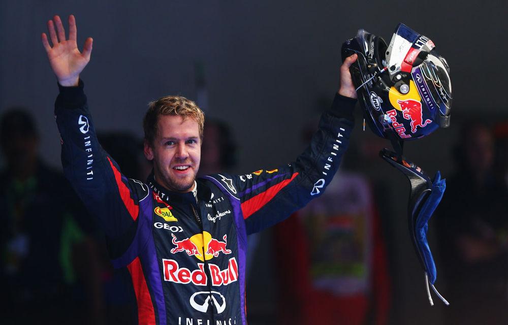 GALERIE FOTO şi VIDEO: Vettel a sărbătorit cu stil al patrulea titlu mondial din carieră - Poza 15