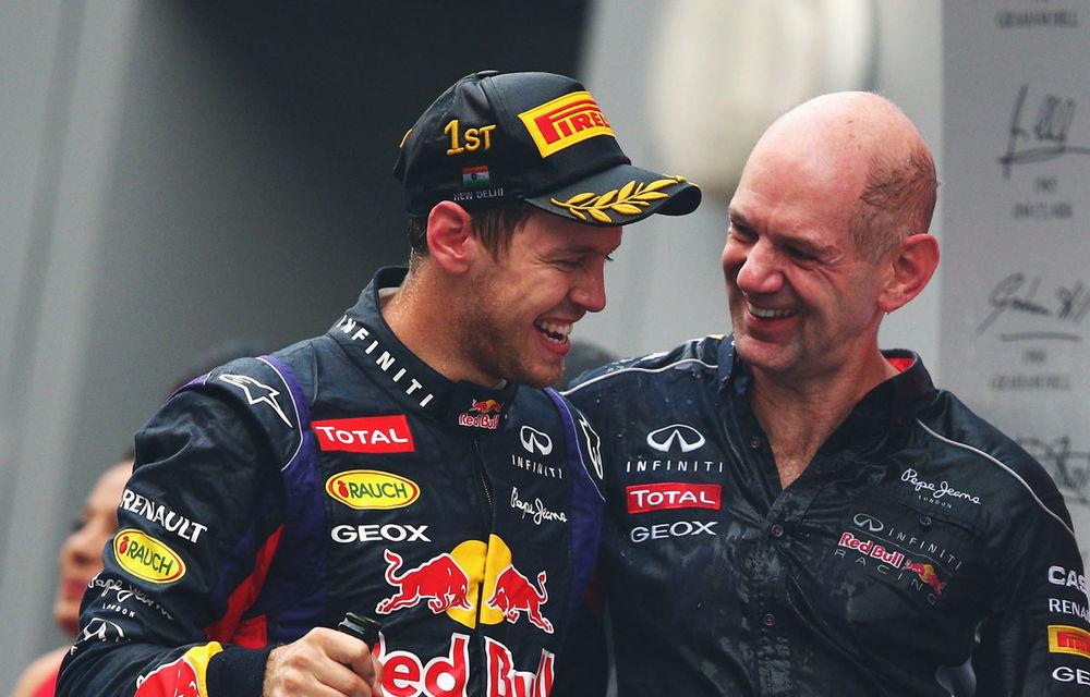 GALERIE FOTO şi VIDEO: Vettel a sărbătorit cu stil al patrulea titlu mondial din carieră - Poza 17