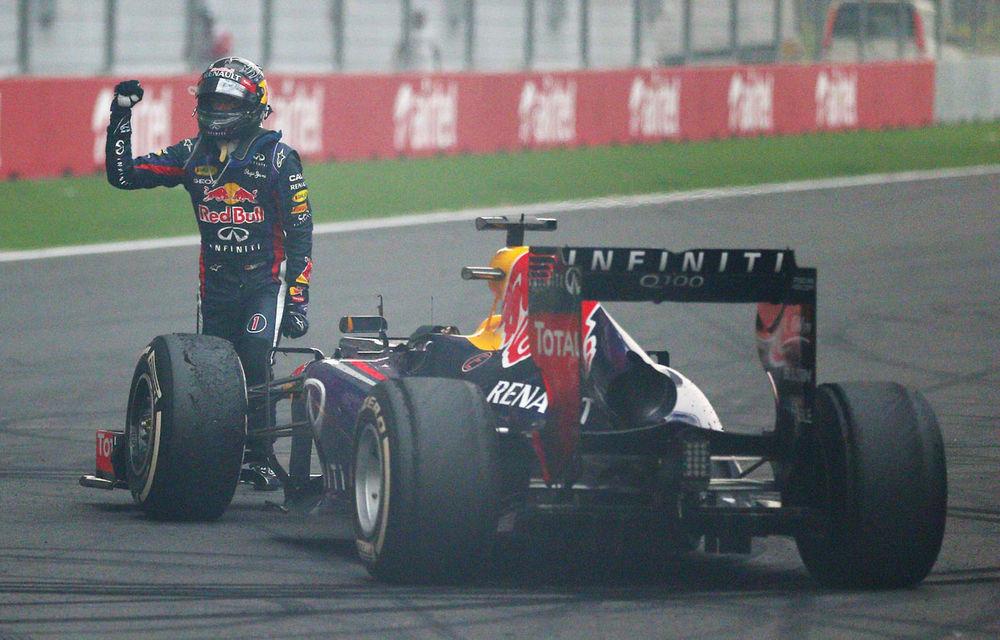GALERIE FOTO şi VIDEO: Vettel a sărbătorit cu stil al patrulea titlu mondial din carieră - Poza 10