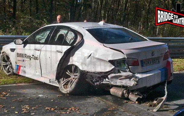 BMW M5 Ring Taxi, accident pe circuitul de la Nurburgring - Poza 2