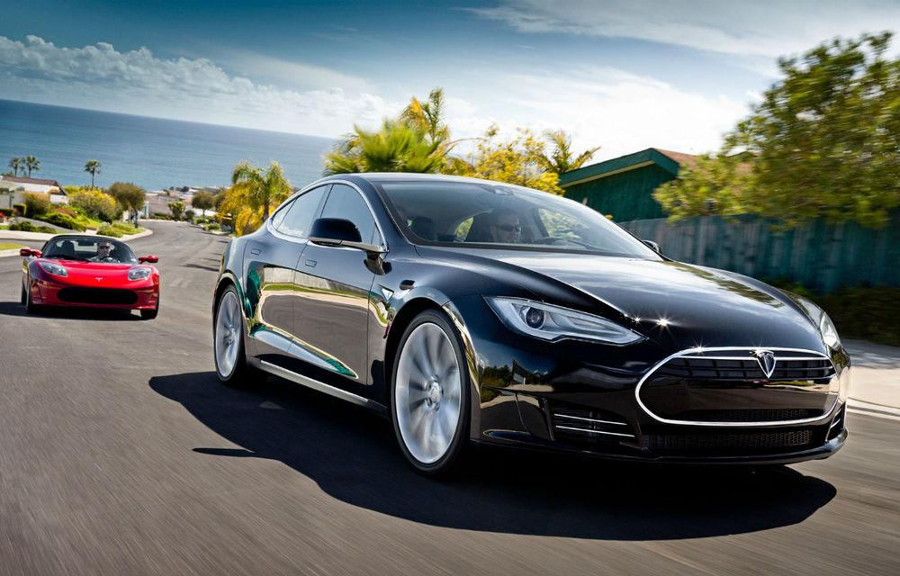 Tesla vrea să vândă 10.000 de maşini electrice pe an în Germania - Poza 1