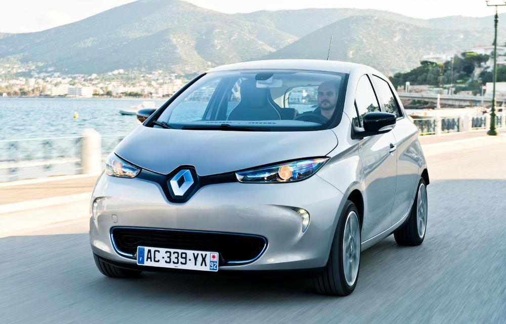 Electrica Renault Zoe nu-şi va atinge ţintele de vânzări planificate - Poza 1