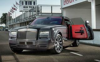 Rolls Royce Chicane Phantom Coupe - exemplar unic, dedicat emoţiei de la Goodwood