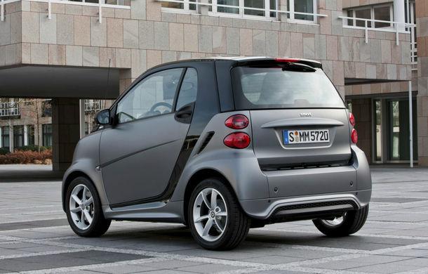 Smart Fortwo - a treia generație a modelului de oraș va fi lansată în 2014 - Poza 1