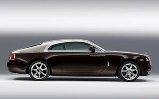 Rolls-Royce Wraith Drophead Coupe a fost confirmat pentru 2015