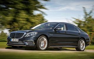 Mercedes-Benz S65 AMG: 630 CP şi 1.000 Nm pentru vârful de gamă al constructorului german