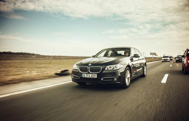 #batelpedavid: Am încercat (şi, parţial, am reuşit) să batem recordul de consum al lui Claudiu David cu BMW 520d xDrive - Poza 1