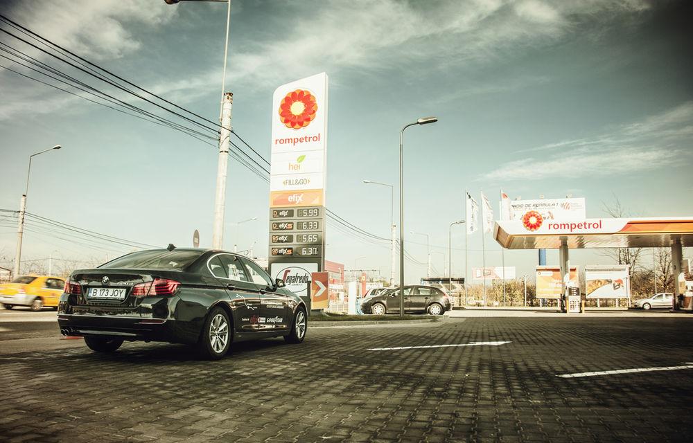 #batelpedavid: Am încercat (şi, parţial, am reuşit) să batem recordul de consum al lui Claudiu David cu BMW 520d xDrive - Poza 2