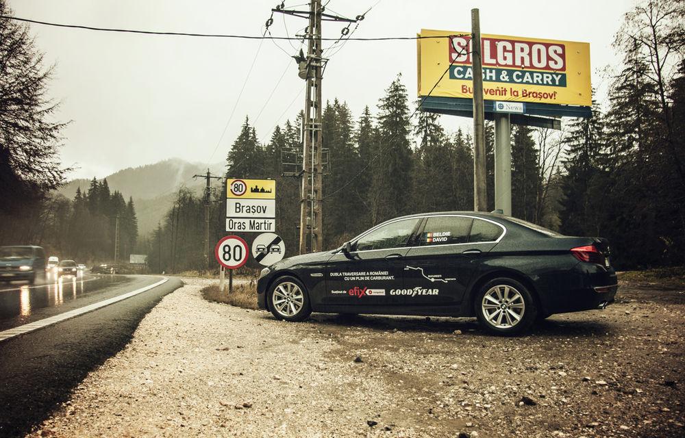#batelpedavid: Am încercat (şi, parţial, am reuşit) să batem recordul de consum al lui Claudiu David cu BMW 520d xDrive - Poza 17