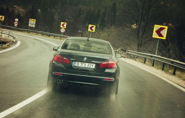 #batelpedavid: Am încercat (şi, parţial, am reuşit) să batem recordul de consum al lui Claudiu David cu BMW 520d xDrive - Poza 14