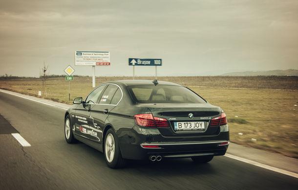 #batelpedavid: Am încercat (şi, parţial, am reuşit) să batem recordul de consum al lui Claudiu David cu BMW 520d xDrive - Poza 9