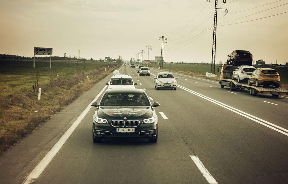 #batelpedavid: Am încercat (şi, parţial, am reuşit) să batem recordul de consum al lui Claudiu David cu BMW 520d xDrive - Poza 10