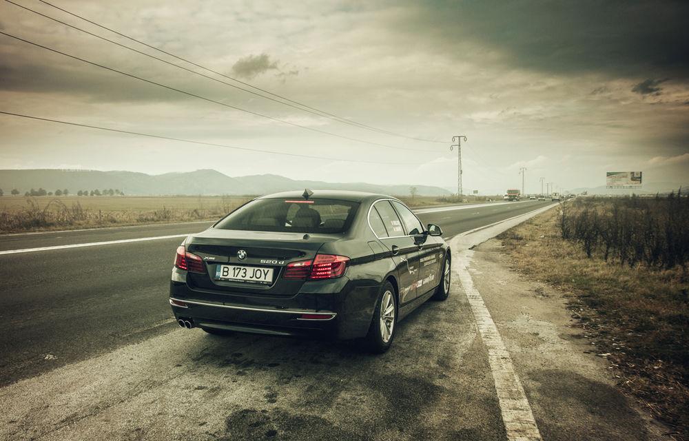#batelpedavid: Am încercat (şi, parţial, am reuşit) să batem recordul de consum al lui Claudiu David cu BMW 520d xDrive - Poza 11
