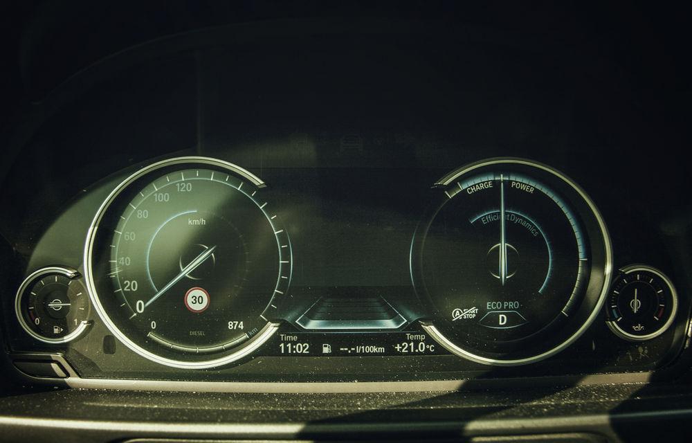 #batelpedavid: Am încercat (şi, parţial, am reuşit) să batem recordul de consum al lui Claudiu David cu BMW 520d xDrive - Poza 3
