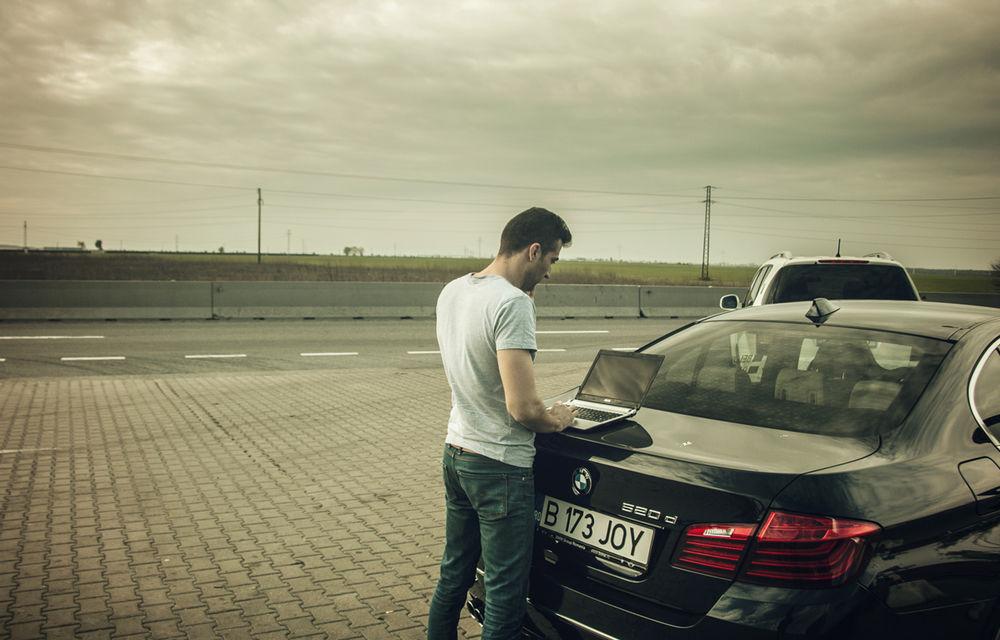 #batelpedavid: Am încercat (şi, parţial, am reuşit) să batem recordul de consum al lui Claudiu David cu BMW 520d xDrive - Poza 8