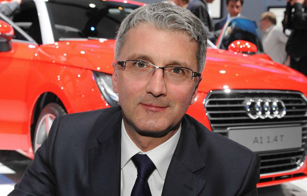 """Şeful Audi: """"Nu renunţăm la ţinta noastră de vânzări pentru 2020"""" - Poza 1"""