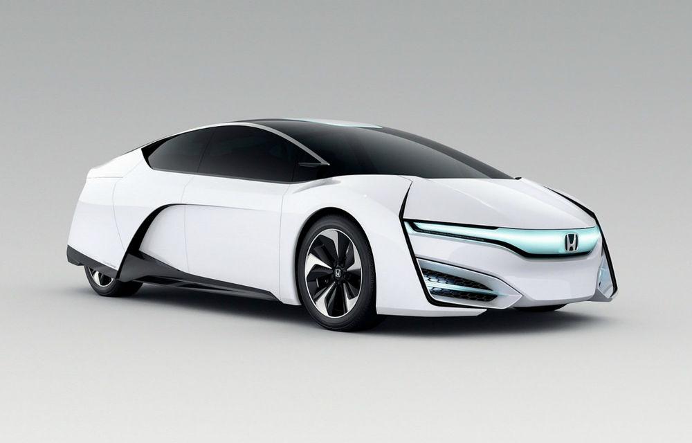 Honda FCEV Concept prefaţează viitoarele vehicule cu hidrogen ale japonezilor - Poza 1