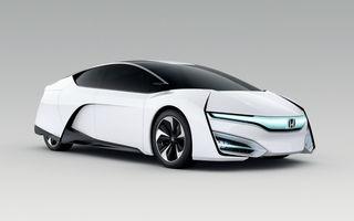 Honda FCEV Concept prefaţează viitoarele vehicule cu hidrogen ale japonezilor