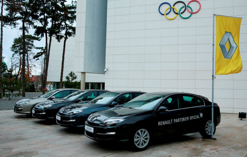 Renault va continua să sponsorizeze sportivii români până în 2016, la Jocurile Olimpice de la Rio - Poza 4