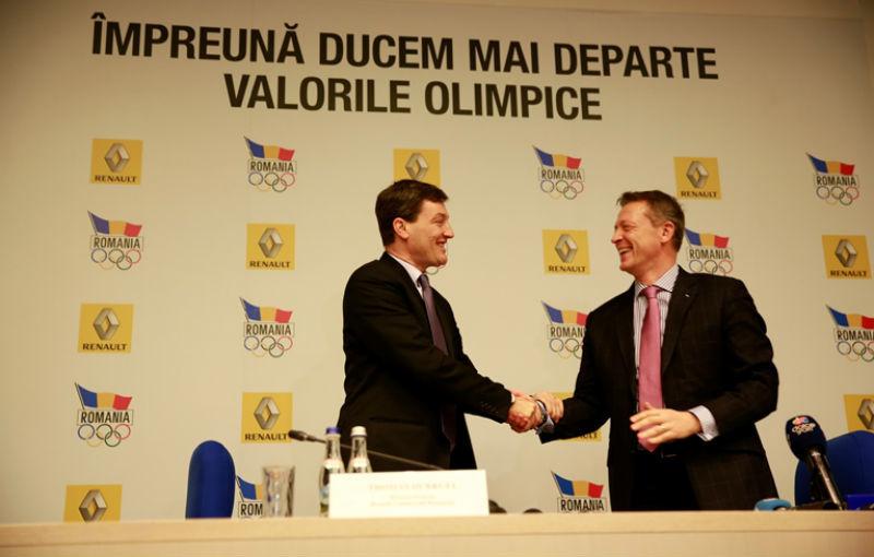 Renault va continua să sponsorizeze sportivii români până în 2016, la Jocurile Olimpice de la Rio - Poza 2