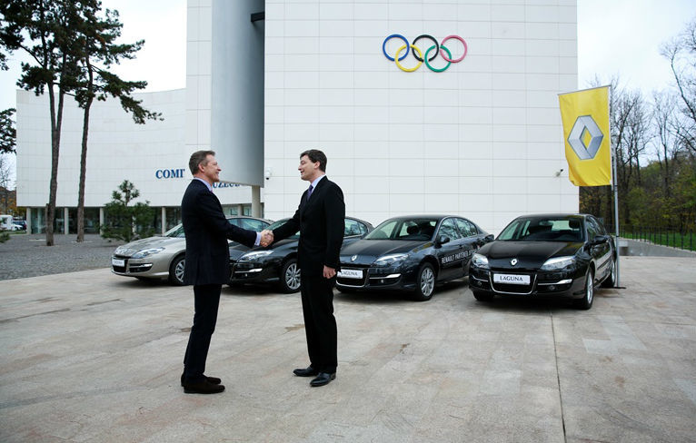Renault va continua să sponsorizeze sportivii români până în 2016, la Jocurile Olimpice de la Rio - Poza 1