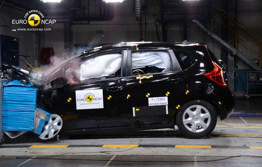 EuroNCAP: Doar 4 stele pentru BMW i3, Nissan Note, Ford EcoSport şi VW Transporter - Poza 16