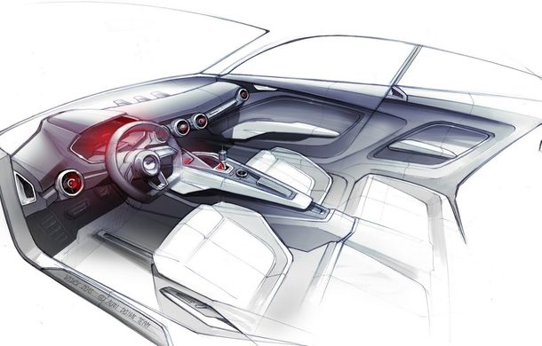 Primele schiţe ale conceptului din care se va naşte micul SUV Audi Q1 - Poza 4