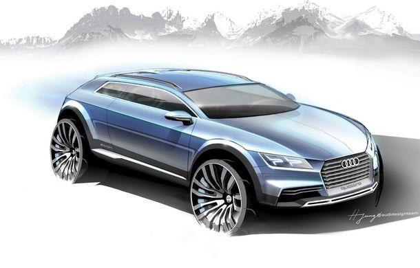Primele schiţe ale conceptului din care se va naşte micul SUV Audi Q1 - Poza 2