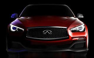 Infiniti Q50 Eau Rouge, un concept inspirat din Formula 1, va fi prezentat la Detroit