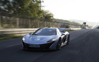 McLaren P1 a obţinut o viteză medie de peste 180 km/h pe Nurburgring