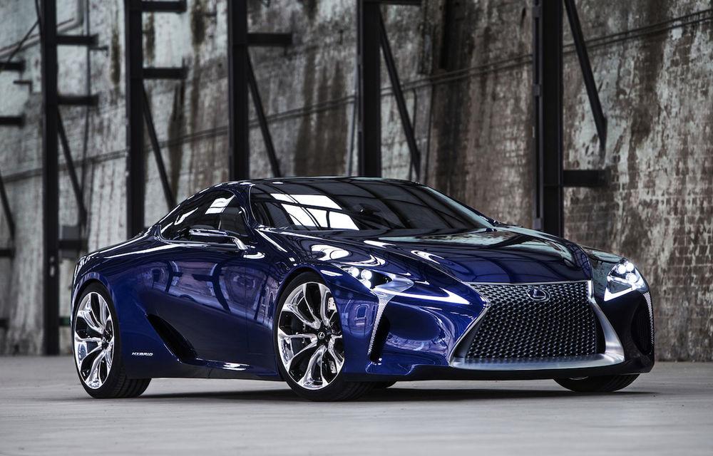 Lexus LFA ar putea fi înlocuit de un supercar bazat pe conceptul LF-LC - Poza 1