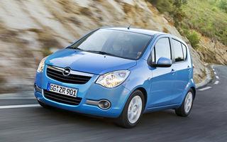 Opel ar putea lansa un model mai mic decât Adam şi Corsa