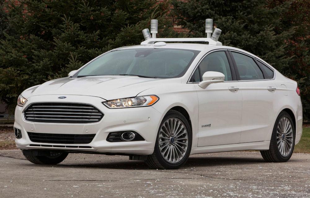 Ford a dezvelit prototipul care pregăteşte viitoarele tehnologii de conducere autonomă - Poza 1