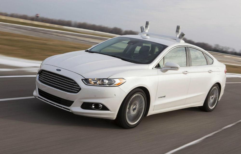 Ford a dezvelit prototipul care pregăteşte viitoarele tehnologii de conducere autonomă - Poza 3