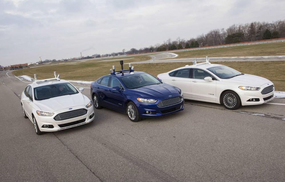 Ford a dezvelit prototipul care pregăteşte viitoarele tehnologii de conducere autonomă - Poza 4