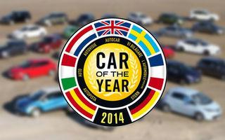 Au rămas 7! Acestea sunt maşinile finaliste în European Car of the Year 2014